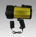 100W Halogen Aluminium 10M Candles Power Spotlight for Hunting Searchlight 3