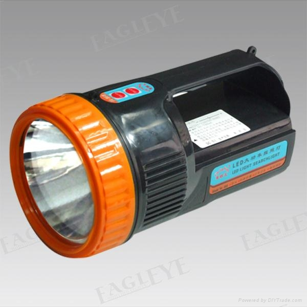 Rechargeable Portable LED 3W Searchlight with Lead or Lithium Battery 1