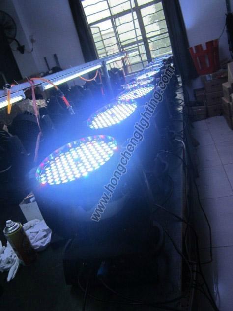 108 pcs zoom led moving head light 4