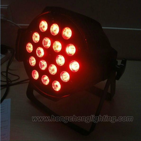 Guangzhou stage lighting 18X10W 4 in 1 led par light 1