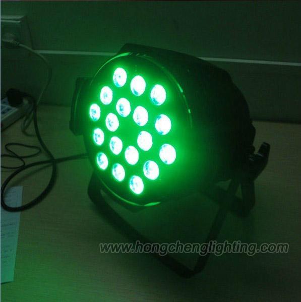 Guangzhou stage lighting 18X10W 4 in 1 led par light 2