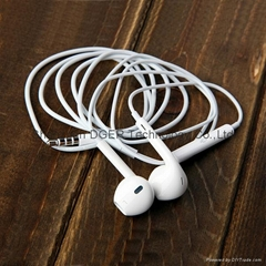 EarPods earphone and headphone for iPhone 5 with MIC and remote control