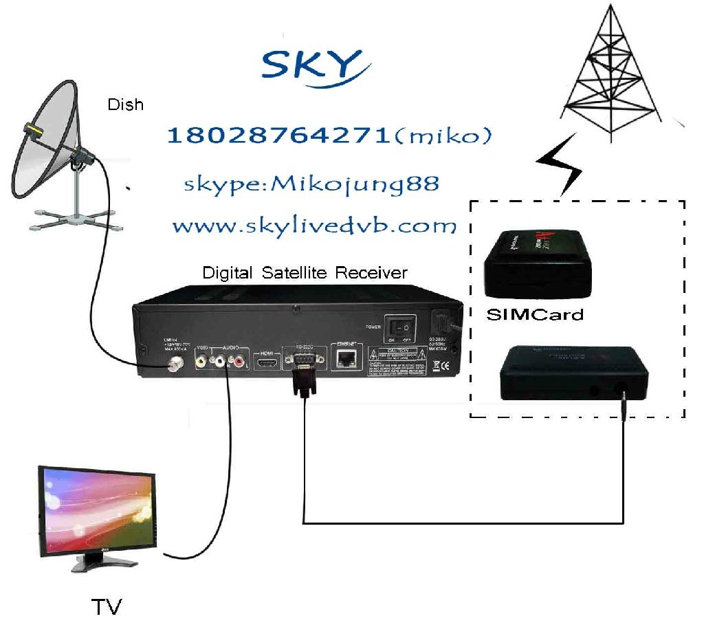 fta hd satellite africa dongle sharing a simcard gprs router china. Black Bedroom Furniture Sets. Home Design Ideas