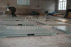 2*2M 1T Platform Scale Floor Scale (Single Deck)