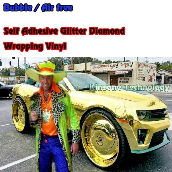 Chrome Gold Car Emblem 3m Paint Protection Film Kinzone China