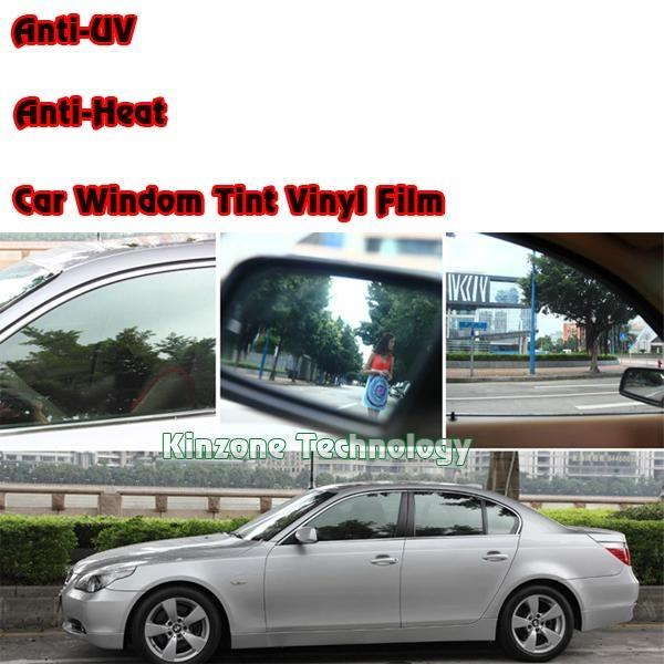 Car Window Tint Film Bubble Free Kinzone China Car Exterior Decoration Car Accessories
