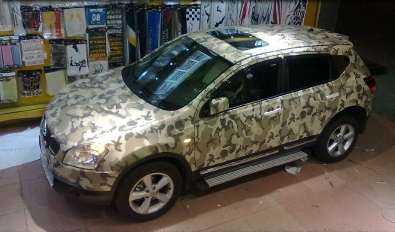 Air Free Bubbles Camouflage Vinyl Kinzone China Car Exterior Decoration Car