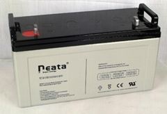 Deep Cycle Lead Acid Battery 12V-120ah (ISO, CE, UL, RoHS) (NT12V120ah)