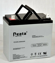 UPS Lead Acid Battery 12V-50ah (ISO, CE, UL, RoHS)