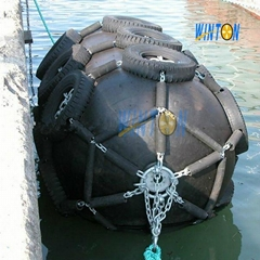 marine inflatable rubber fenders