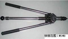 Hand rivet nut tool