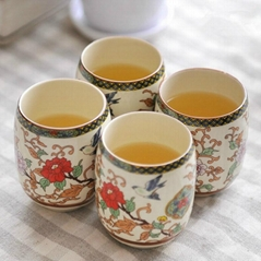 Chinese Magpie Joyous Teacup