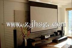 PVC projection screen fa