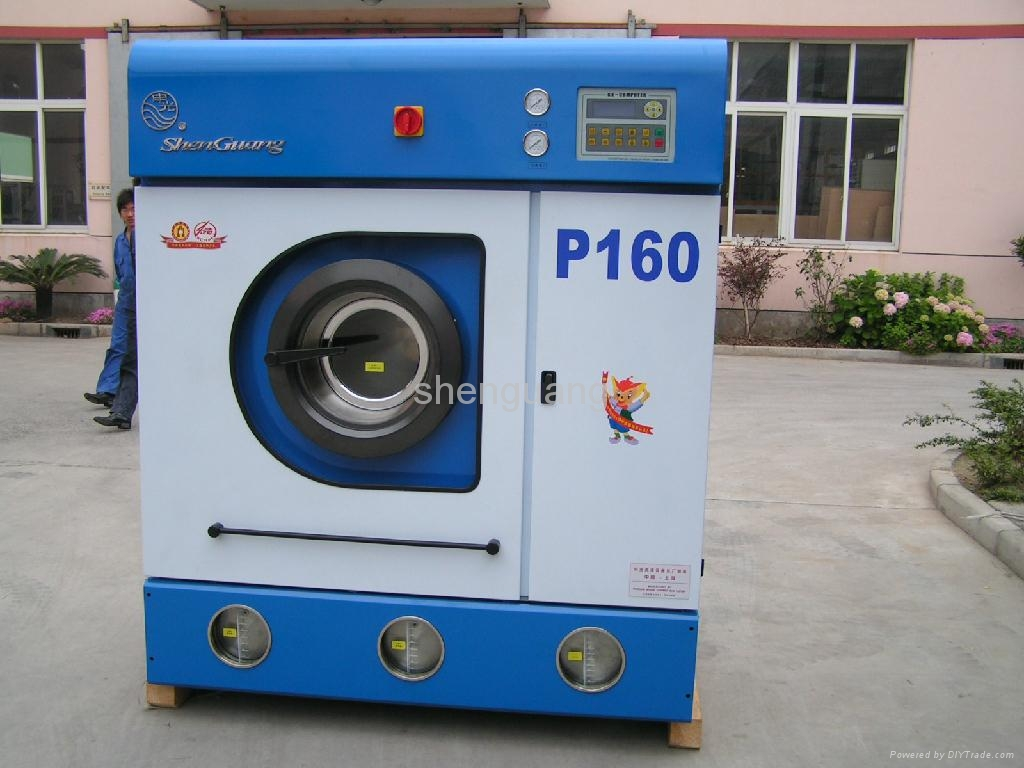 Semi Auto Dry Clean Machine Industrial Laundry Equipment