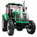 QLN100HP 4wd farm machinery with many implements