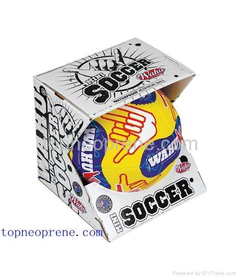 neoprene beach soccer ball football 1