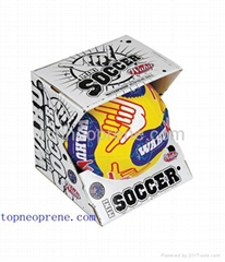 neoprene beach soccer ball football