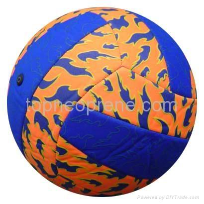 neoprene beach soccer ball football 3