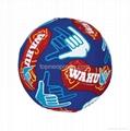 neoprene beach soccer ball football 5