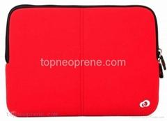 neoprene laptop notebook sleeve for