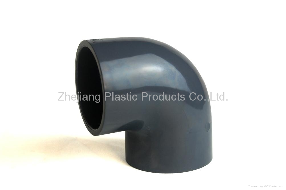 Pvc plastic ° elbow bend pipe china valves machine