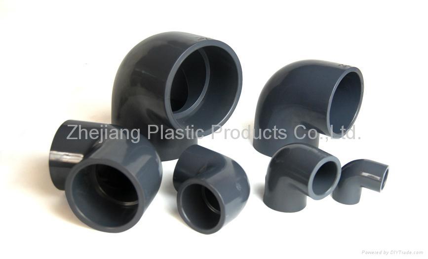 Pvc plastic ° elbow bend pipe china valves machine