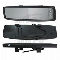New Slim Universal Reversing Mirror Monitor (TM-4318A-S)