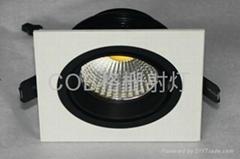COB grille lamp