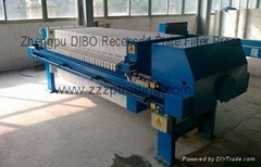 Zhengpu DIBO Recessed Plate X1000 filter press