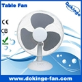 "100% copper wire 16"" table fan with 3 PP"