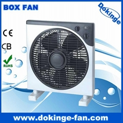 12 inch electric box fan with timer