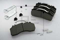 Truck brake pads 29087