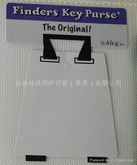 Plastic sheet color labels