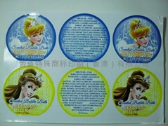 Paper sticker stickers