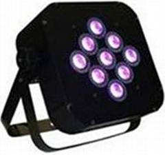 9pcs *15W HIGH BRIGHTNESS 5 IN 1 LED (BATTERY POWER & WIRELESS DMX PAR)