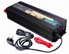 ac to dc converter power inverter with 10A charger UPS 2000W