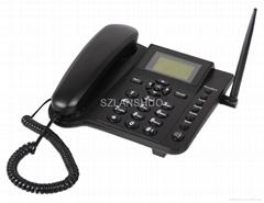 QUAD BAND 850/900/1800/1900MHZ SIM CARD GSM DESKTOP PHONE FWP