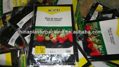 black strawberry mulch film packing in hanger bag 1.4M*10M