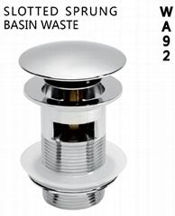 pop-up basin waste