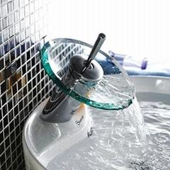 glass faucet basin faucet