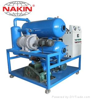 ZYD Double stages vacuum transformer oil purifier 1