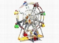 DIY 3D metal  Ferris wheel model puzzle blocks intelligent jigsaw toys 2