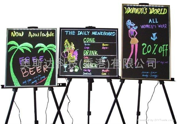 RGB Sign led AdvertisingBoard/ writing board/ message board 3