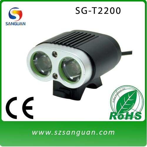 Sanguan newest type cree xml t6 led head lamp