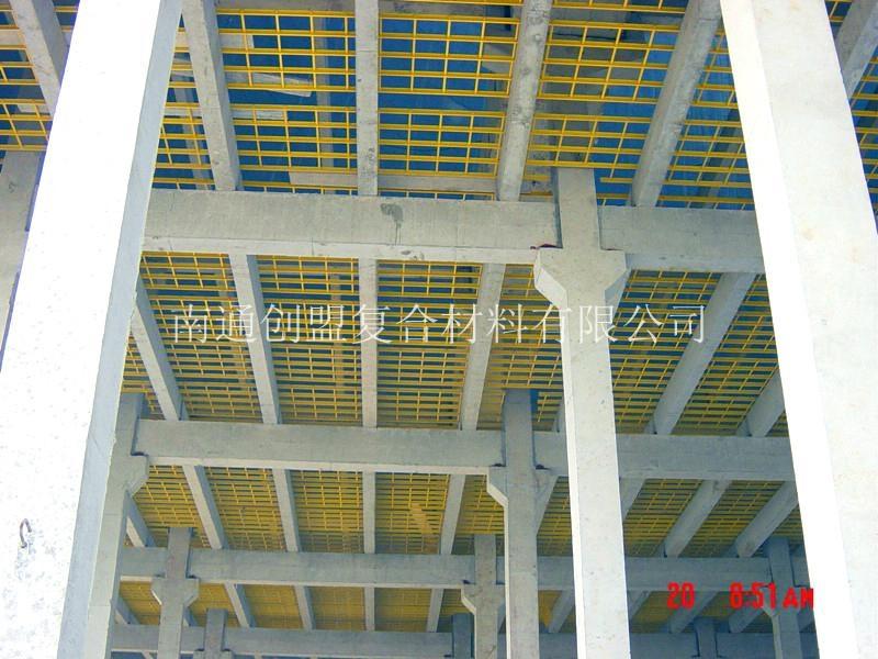 冷却塔支架,冷却塔填料托架是由各种截面形状和尺寸的拉挤