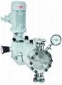 CE hydraulic PTFE diaphragm dosing pump with CS pump head DPMXAA  1
