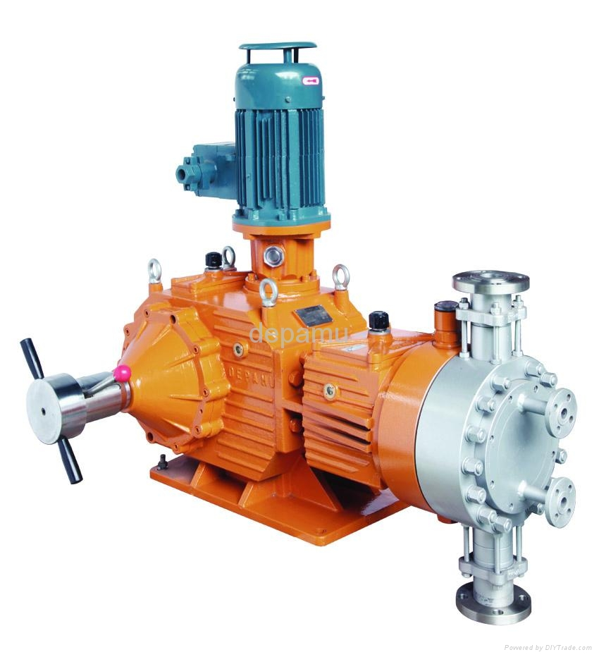 Mass Flow Chem Hydraulic Pump With SS Flange Connection  1