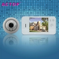 Clear Vision Digital door peephole with door camera