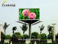 Creking Outdoor Full Color LED Display For P16MM