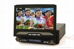 7inch 1DIN Universal  car dvd player navigation system